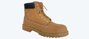 China Mine Diggings Waterproof Work Shoes / Steel Toe Cap Trainers Heat Resistance supplier