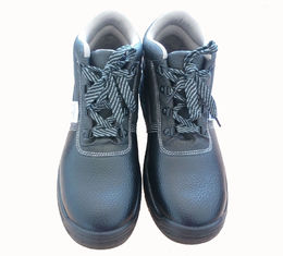 China Pk Cloth Lining Comfortable Work Boots Genuine Buffalo Leather Upper Oem Brand supplier