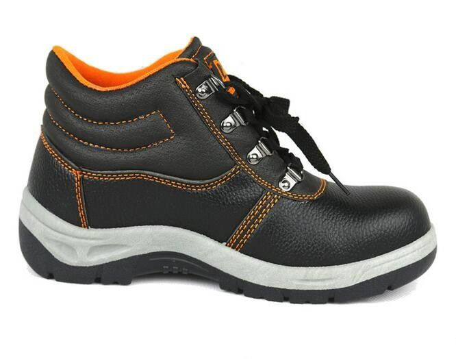 Suede Leather Upper Non Slip Work Shoes