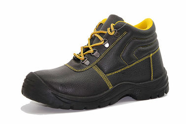 China Anti Static Steel Toe Shoes Oil Resistance With Buffalo Leather Upper factory