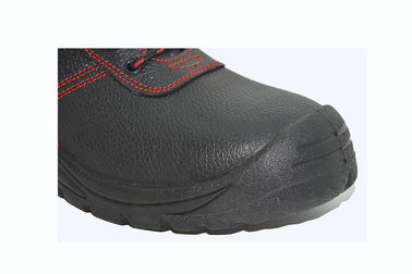 Real Leather Upper Polyurethane Outsole Shoes Applied Municipal Services
