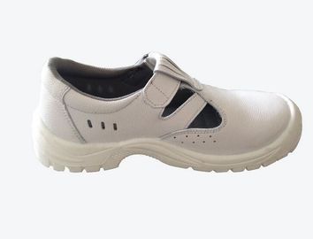 China Logistics Genuine Leather Work Shoes / Boots Work Shoes Cow Leather Material factory
