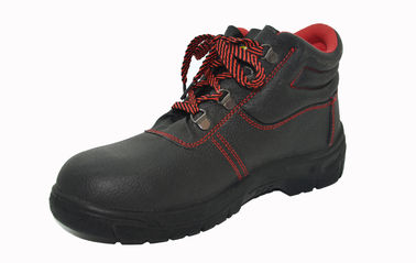 Construction Site Comfortable Safety Shoes Genuine Buffalo Leather Upper