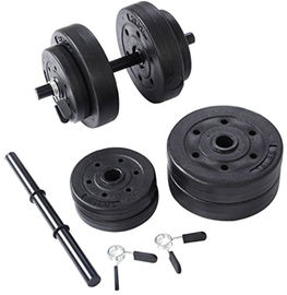 China High Performance 15KG Adjustable Dumbbell Set ,  Multi Weight Dumbbells factory
