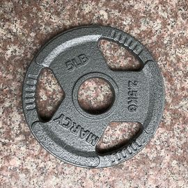 Out Door / Indoor Iron Weight Plates Rust Resistance With Long Lasting Durability